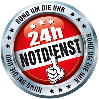 24h Notdienst Button