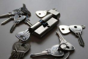 Schlüssel und Schloss